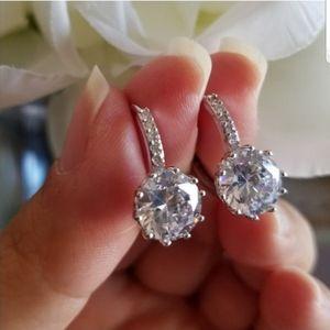 Swarovski Elements Round Drop Earrings NEW